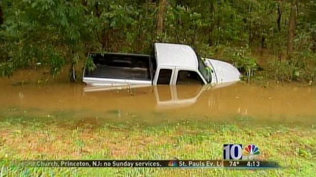 [PHI] NJ Woman Dies After Her Truck is Swept Away in Flood Waters