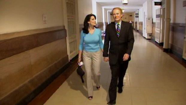 [PHI] Larry Mendte, Dawn Stensland at Court for Alycia Lane's Civil Case