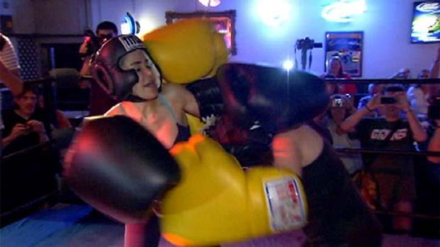 [PHI] Raw Video: Octomom Boxing Match vs WMGK's Jen Posner