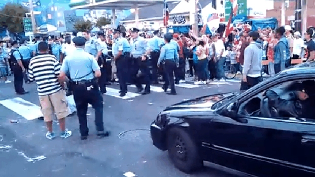 [PHI] Festival Organizer Reacts to Officer Hitting Woman