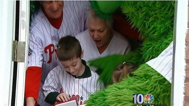 Phanatic Delivers Special Package