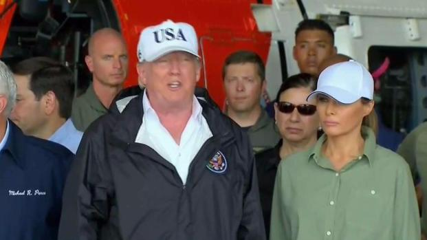 Trump praises Florida for Irma effort
