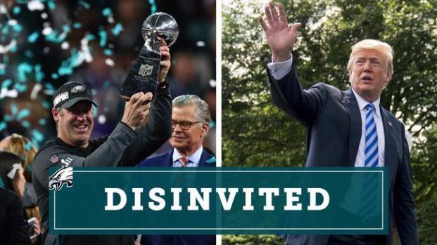 [PHI] President Trump Rescinds White House Visit for Eagles