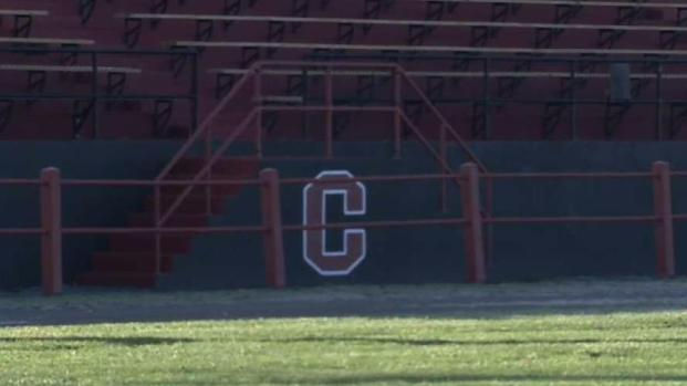 Residents Join to Restore High School Football Field