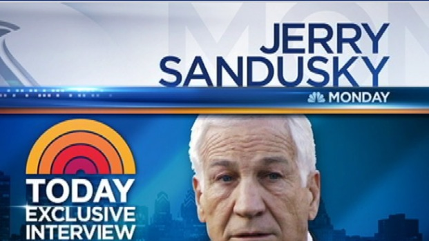 [PHI] Today Show Will  Air Exclusive Sandusky Interview
