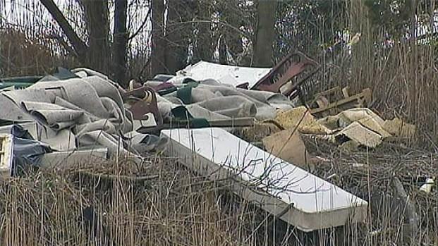 [PHI] Debris Left by Sandy Angers Woman