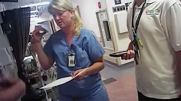 RAW VIDEO: Utah Nurse Arrested for Refusing Blood Sample