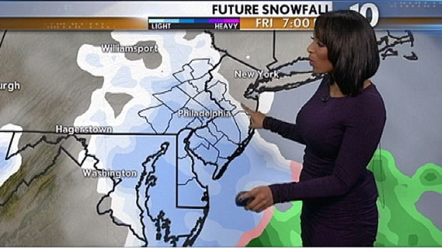 [PHI] Snow Expected in Philly for Friday Night