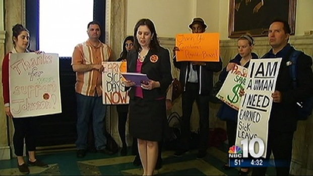 [PHI] Workers Look to Overturn Nutter's Sick Leave Veto