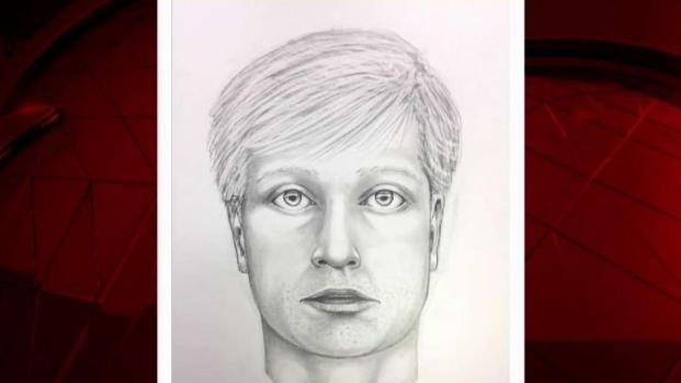 Sketch of Road Rage Shooter