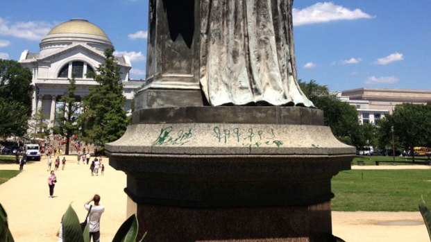 [DC] Two More Landmarks Vandalized With Green Paint