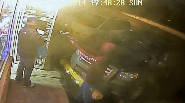 [CHI] Surveillance Video: Clerk Killed in Bensenville Shooting