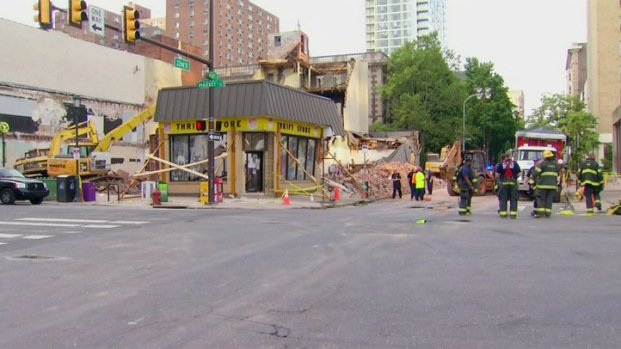 [PHI] Rescue Crews Stand Down at Collapse Site