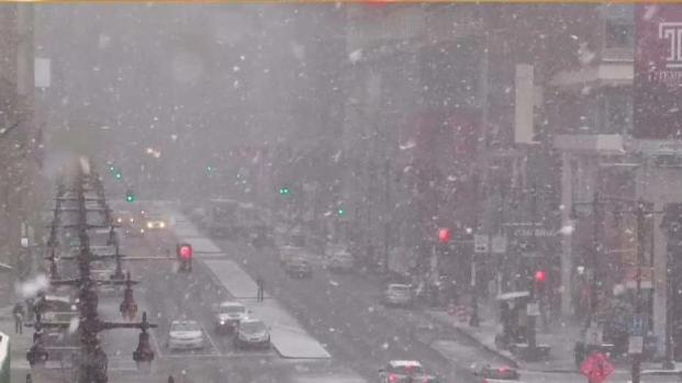 Timelapse: Watch the Snow Pick Up