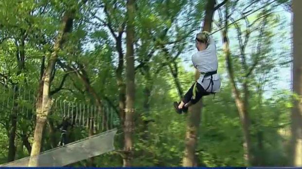 Treetop Quest Brings Zip Lines to Fairmount Park
