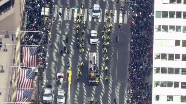 Villanova Parade Is a Sight to See