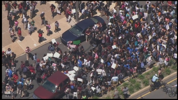 [PHI] SkyForce10: Students March on Philly School District