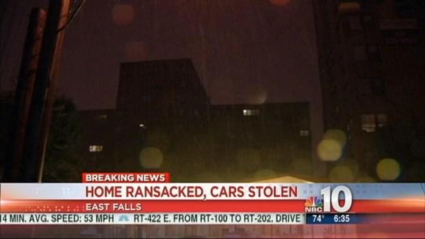 [PHI] Burglars Take Luxury Cars, Money