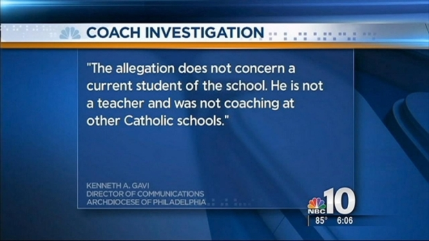 [PHI] Track Coach Accused of Possible Inappropriate Conduct