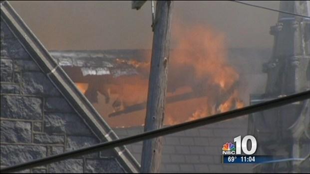 [PHI] Philadelphia Church Fire Takes Toll On Parishioners