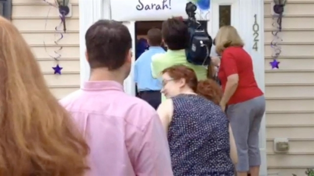 [PHI] RAW VIDEO: Sarah Murnaghan's Welcome Home