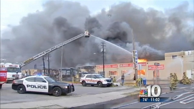 [PHI] 6-Alarm Fire Rips Through Boardwalk in Seaside Park