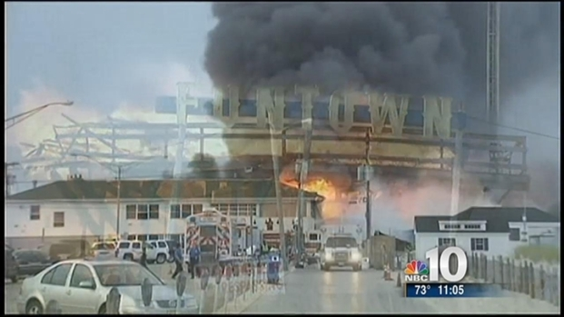[PHI] Dozens of Businesses Destroyed in Boardwalk Fire