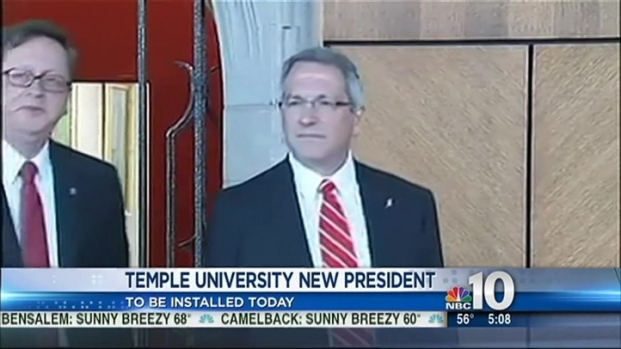 [PHI] Temple to Welcome New President