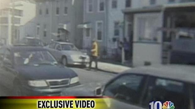 [PHI] Exclusive Video: Off-Duty Officer Allegedly Shoots Neighbor