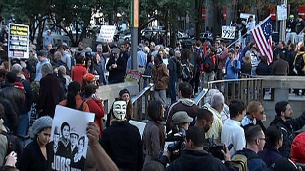 [PHI] Occupy Philadelphia Stages Peaceful Protest