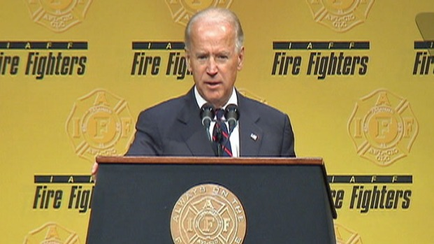 [PHI] Biden to Firefighters: Romney, GOP 'Don't Get You'