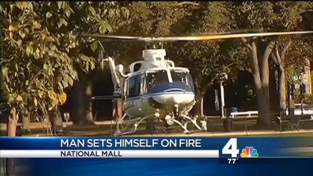 [DC] Man May Have Set Himself on Fire on National Mall