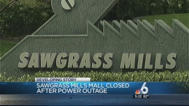[MI] Sawgrass Mills Mall Evacuated After Power Outage
