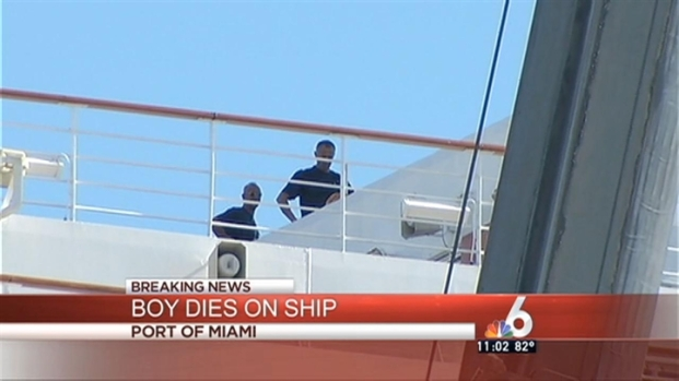 [MI] Boy Drowns in Pool on Carnival Cruise Ship