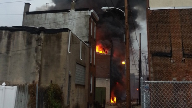 Fire Damages Mummers Warehouse