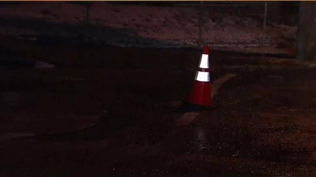 [PHI] Water Main Break Ices Northeast Philadelphia Streets