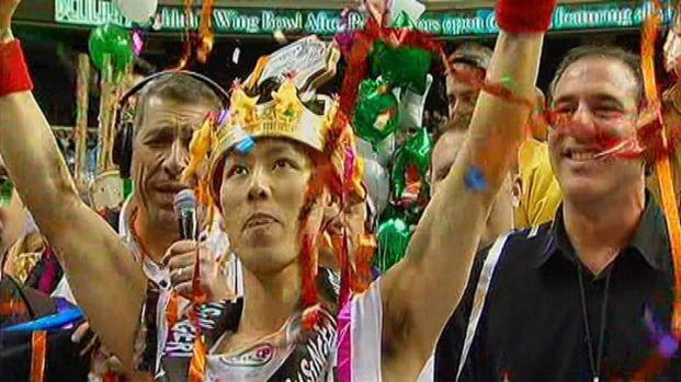[PHI] Kobayashi Crowned Wing Bowl Champ