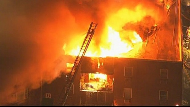 [PHI] Firefighters Hurt, Several Displaced in Condo Fire