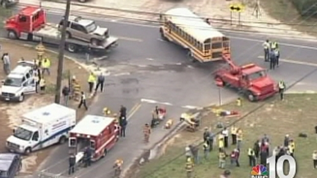 [PHI] Several Students Injured in School Bus Accident