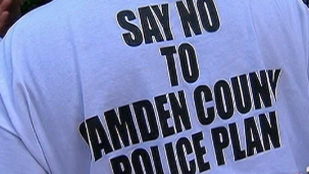 [PHI] Camden Residents Rally Against Police Merger