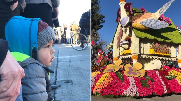 [NATL la gallery]Happy New Year! Rose Parade 2019 Lights Up Faces in the Crowd