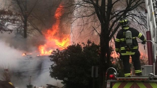 Fire Englufs Camden County Home