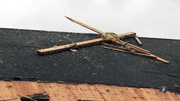 [PHI] Possible Tornado Touched Down in Stafford Twp.