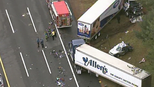 [PHI] Deadly Multi-Car Crash on NJ Turnpike