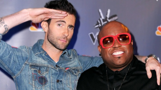 "[NBCAH] Adam Levine & Cee Lo Green On ""The Voice"" Season 2 Contestants"