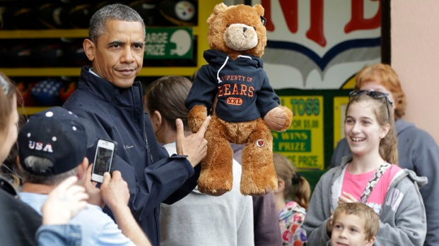 [PHI] Residents React to Obama's Jersey Shore Visit