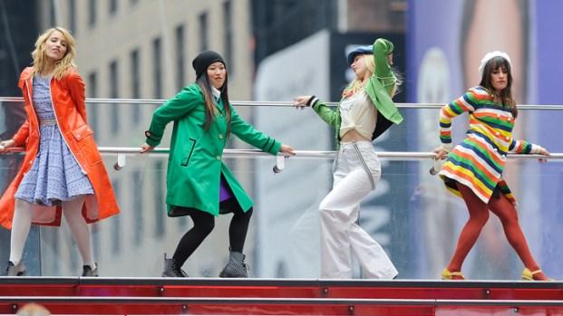 "[NATL] ""Glee"" Stars Look Ahead to New Season"