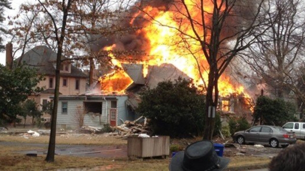 [PHI] 2 Injured in Explosion, Fire in Haddon Heights