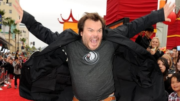 "[NBCAH] Jack Black Hits the Red Carpet for ""Kung Fu Panda 2"""