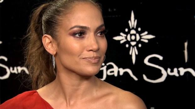 Jennifer Lopez's Emotional Moment